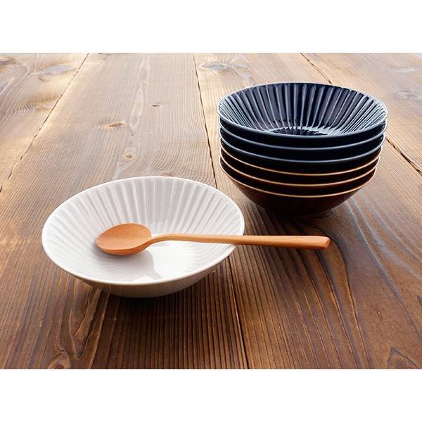 【LINE】選べる3色 小鉢 13.7cm アウトレット込 日本製 美濃焼 陶器 洋食器 お皿 ボール デザートボウル 取り鉢 中鉢 とんすい カフェ風 北欧風 おしゃれ モダン k-s-kitchen 11