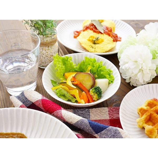 【LINE】選べる3色 小鉢 13.7cm アウトレット込 日本製 美濃焼 陶器 洋食器 お皿 ボール デザートボウル 取り鉢 中鉢 とんすい カフェ風 北欧風 おしゃれ モダン k-s-kitchen 04