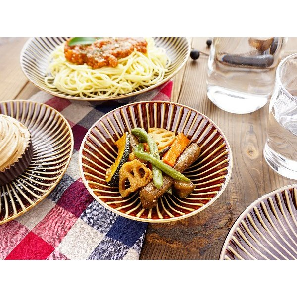 【LINE】選べる3色 小鉢 13.7cm アウトレット込 日本製 美濃焼 陶器 洋食器 お皿 ボール デザートボウル 取り鉢 中鉢 とんすい カフェ風 北欧風 おしゃれ モダン k-s-kitchen 06