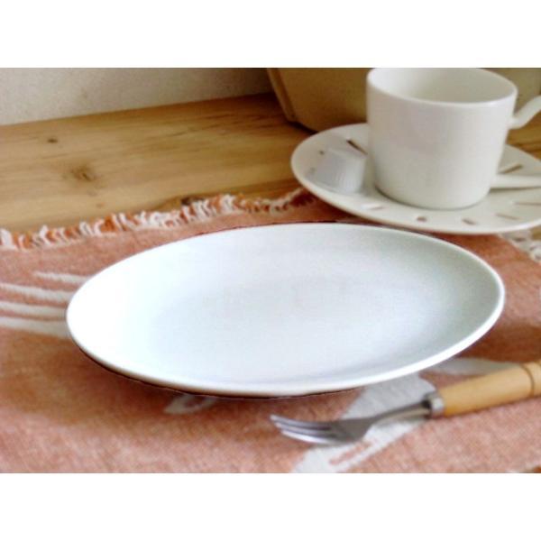 洋食器 オーバルプレート 21cm 中皿 日本製 アウトレット 白い食器 ホテル食器 レストラン食器 楕円皿 お皿 パスタ皿 ケーキ皿 サラダ皿 玉縁 オシャレ 業務用|k-s-kitchen|02