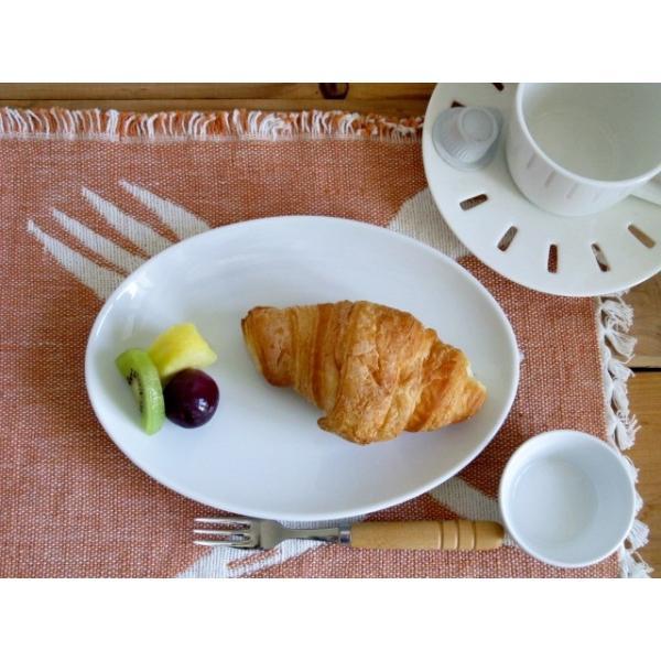洋食器 オーバルプレート 21cm 中皿 日本製 アウトレット 白い食器 ホテル食器 レストラン食器 楕円皿 お皿 パスタ皿 ケーキ皿 サラダ皿 玉縁 オシャレ 業務用|k-s-kitchen|05