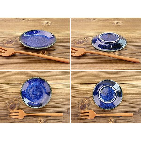 【選べる2色】 豆皿 10cm 3寸皿 ネプチューン&ウラヌス 日本製 美濃焼 陶器 和食器 お皿 小皿 醤油皿 薬味皿 取り皿 ブルー グレー カフェ おしゃれ 北欧風|k-s-kitchen|11