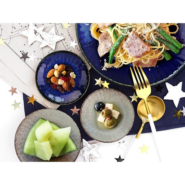【選べる2色】 豆皿 10cm 3寸皿 ネプチューン&ウラヌス 日本製 美濃焼 陶器 和食器 お皿 小皿 醤油皿 薬味皿 取り皿 ブルー グレー カフェ おしゃれ 北欧風|k-s-kitchen|13