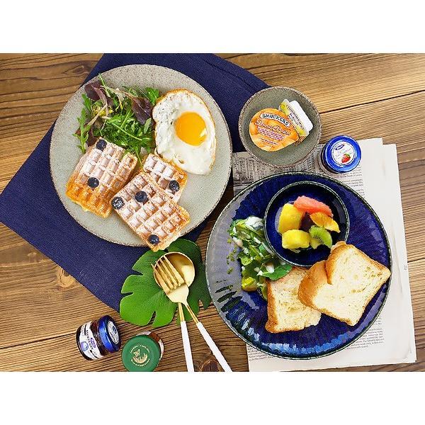【選べる2色】 大皿 22.2cm 7寸皿 ネプチューン&ウラヌス 日本製 美濃焼 陶器 和食器 お皿 ディナープレート パスタ皿 ブルー グレー カフェ おしゃれ 北欧風 k-s-kitchen 14