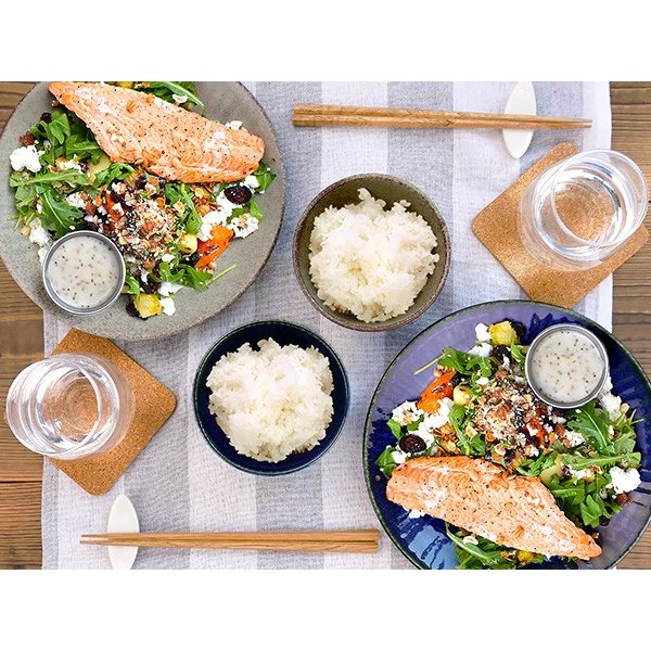 【選べる2色】ご飯茶碗 11cm 250cc ネプチューン&ウラヌス 日本製 美濃焼 陶器 和食器 ライスボウル 飯碗 汁椀 夫婦茶碗 ブルー グレー カフェ おしゃれ 北欧風 k-s-kitchen 14