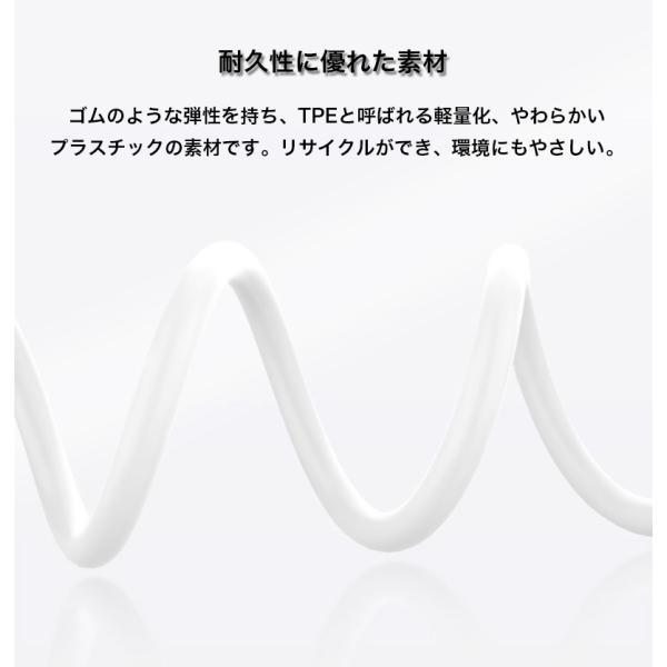ライトニングケーブル Apple認証 Lightningケーブル MFi認証 iPhone XS iPhone XR ケーブル 純正品質 急速充電 1m iPod Pad データ転送 ナイロン製 アルミ端子|k-seiwa-shop|13