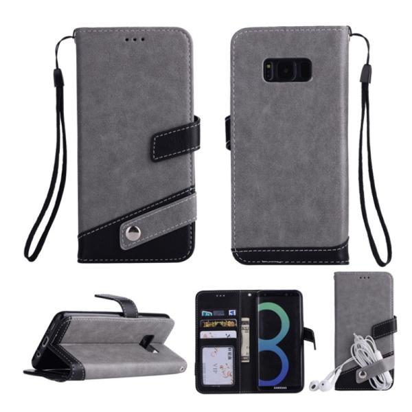 ギャラクシーS10 ケース ギャラクシーS9 ケース Galaxy S8 ケース 手帳型 おしゃれ Galaxy S8+ S9 S10+ カバー ストラップ付き カード収納 財布型 スタンド機能|k-seiwa-shop|11