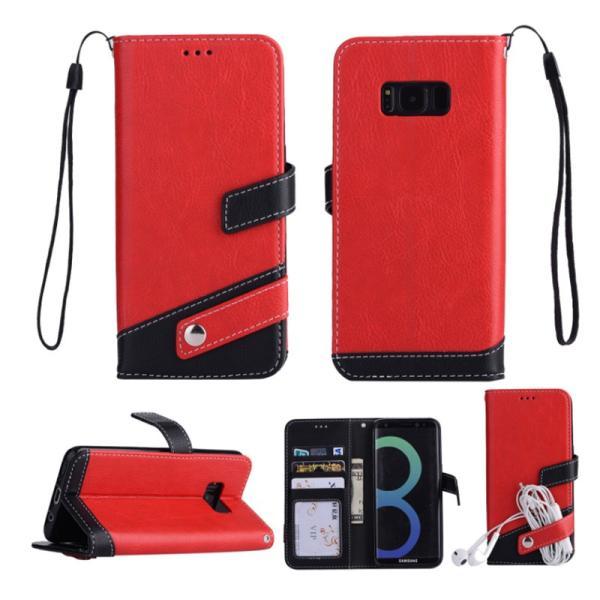 ギャラクシーS10 ケース ギャラクシーS9 ケース Galaxy S8 ケース 手帳型 おしゃれ Galaxy S8+ S9 S10+ カバー ストラップ付き カード収納 財布型 スタンド機能|k-seiwa-shop|12