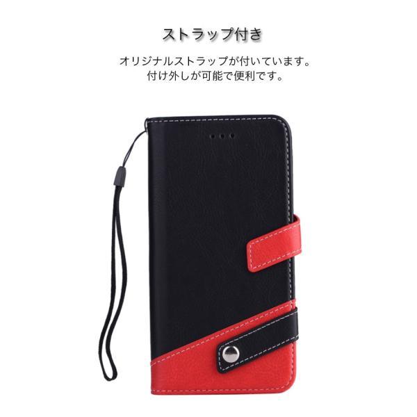ギャラクシーS10 ケース ギャラクシーS9 ケース Galaxy S8 ケース 手帳型 おしゃれ Galaxy S8+ S9 S10+ カバー ストラップ付き カード収納 財布型 スタンド機能|k-seiwa-shop|07