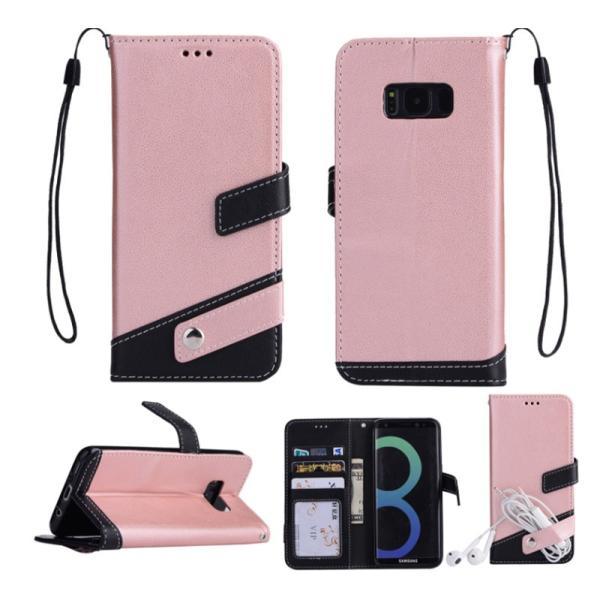 ギャラクシーS10 ケース ギャラクシーS9 ケース Galaxy S8 ケース 手帳型 おしゃれ Galaxy S8+ S9 S10+ カバー ストラップ付き カード収納 財布型 スタンド機能|k-seiwa-shop|10