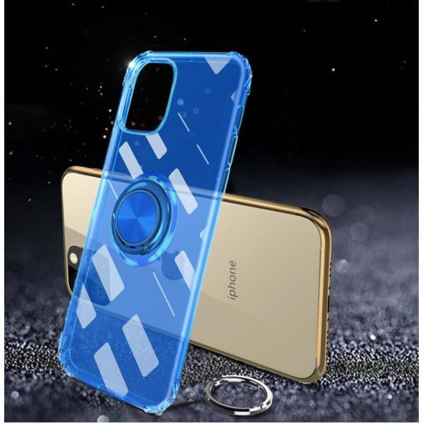 リング付きiphoneケース iPhone11 ケース iPhone11 Pro Max カバー iPhone11Pro ケース 耐衝撃 リング付き ストラップ機能 ガラスフィルム付き k-seiwa-shop 12