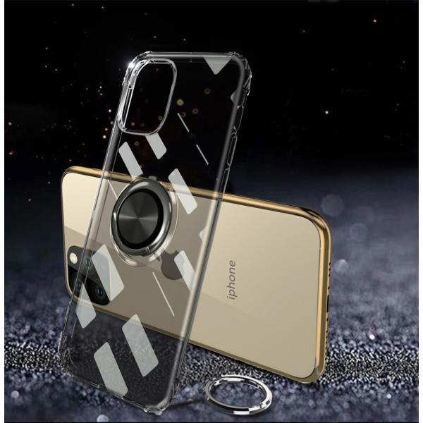 リング付きiphoneケース iPhone11 ケース iPhone11 Pro Max カバー iPhone11Pro ケース 耐衝撃 リング付き ストラップ機能 ガラスフィルム付き k-seiwa-shop 10