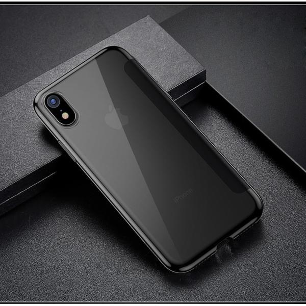 iPhoneXS Max ケース 手帳型 iPhoneX ケース 耐衝撃 iPhoneXS カバー ブランド 覗き見防止 iPhoneXR ケース フタを閉じたまま操作可能 TPU 薄型 軽量|k-seiwa-shop|12