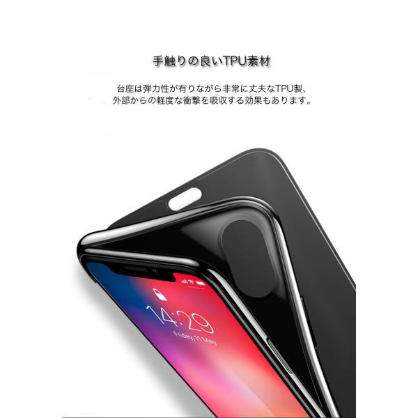 iPhoneXS Max ケース 手帳型 iPhoneX ケース 耐衝撃 iPhoneXS カバー ブランド 覗き見防止 iPhoneXR ケース フタを閉じたまま操作可能 TPU 薄型 軽量|k-seiwa-shop|08