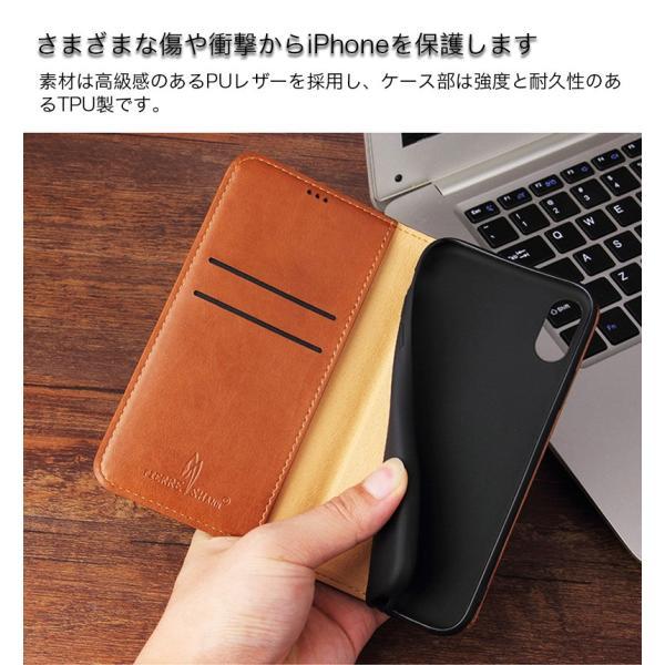 iPhoneケース 手帳型 XR 8plus iPhone XS Max ケース 手帳型 iPhone8 ケース 耐衝撃 iPhone SE X iPhone7 Plus ケース おしゃれ カード収納 iPhoneXR 携帯カバー|k-seiwa-shop|08