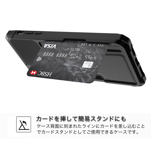 iPhone8 ケース iPhone XR XS Max ケース カード収納 耐衝撃 iPhone7 ケース iPhoneX iPhone8Plus 7Plus ケース おしゃれ ストラップ機能 携帯カバー 薄型|k-seiwa-shop|03