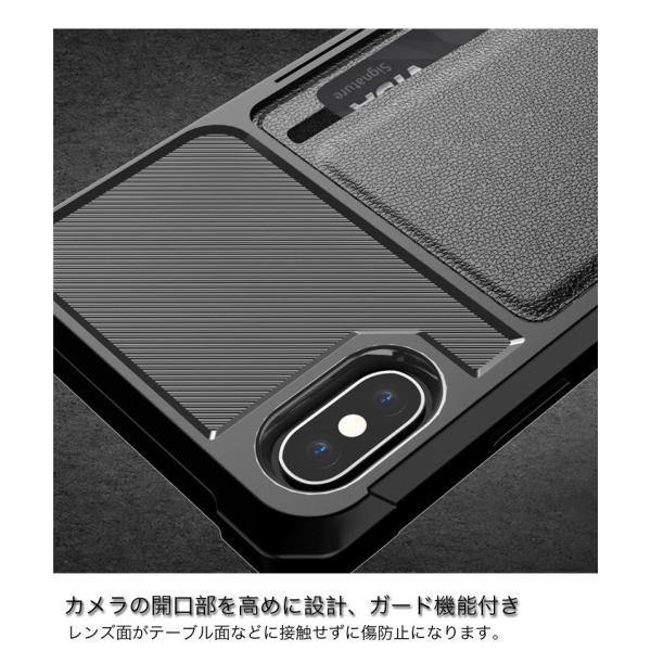 iPhone8 ケース iPhone XR XS Max ケース カード収納 耐衝撃 iPhone7 ケース iPhoneX iPhone8Plus 7Plus ケース おしゃれ ストラップ機能 携帯カバー 薄型|k-seiwa-shop|06