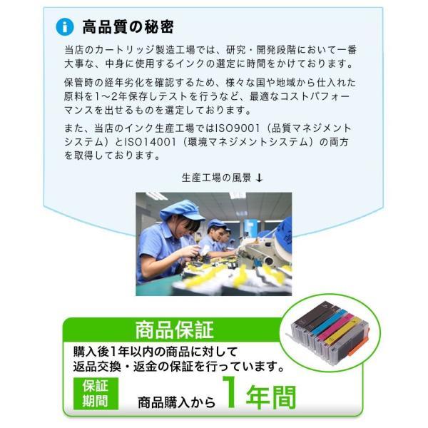 プリンターインク キヤノン 370 350 325 320 2本セット ブラック 互換インクカートリッジ 大容量 370XL インク キヤノン 350XLPGBK 325PGBK ICチップ付|k-seiwa-shop|07
