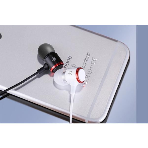イヤホン イヤフォン ダイナミック型 インナーイヤーヘッドホン アルミニウム合金製 マイク・リモコン付 Xperia Galaxy iPhone iPad iPod等多機種対応|k-seiwa-shop|10
