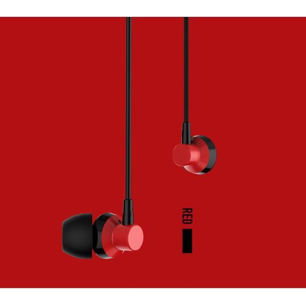 イヤホン 高音質 カナル型 有線 マイク リモコン付 通話 音楽 イヤフォン iPhoneXS Max iPhoneXR Android iPad iPod スマホ 多機種対応|k-seiwa-shop|10