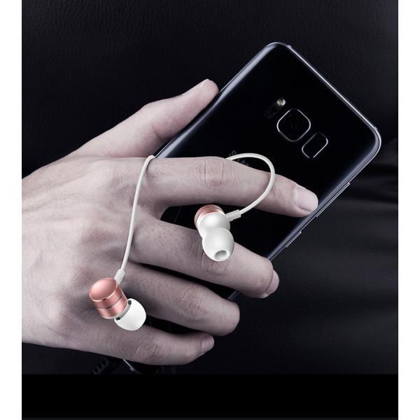 イヤホン 有線 iPhone カナル型 高音質 イヤフォン マイク付き リモコン付き ダイナミック型 通話 音楽 アルミ二ウム合金製 Android iPad スマホ 多機種対応|k-seiwa-shop|17