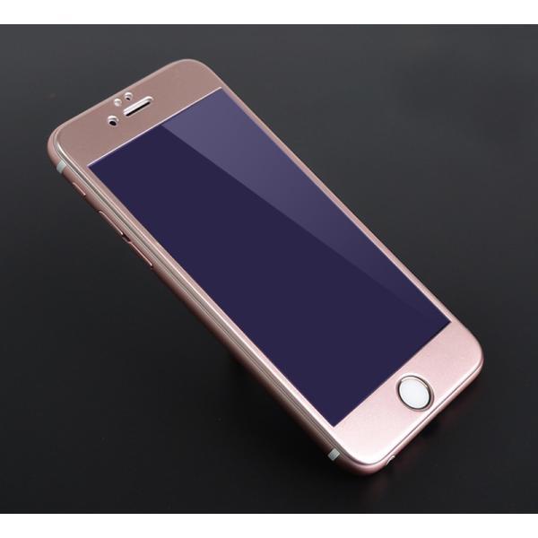 iPhone8 / 8 Plus 7 / 7 Plus / 6s Plus/6 Plus/6s/6/X 強化ガラスフィルム ブルーライトカット 9H硬度 日本旭硝子製素材 衝撃吸収 気泡レス 指紋防止 全面保護|k-seiwa-shop|15