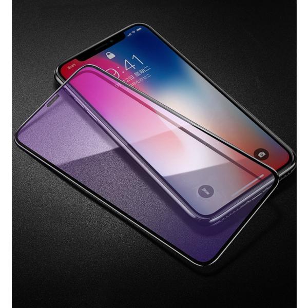 iPhone8 / 8 Plus 7 / 7 Plus / 6s Plus/6 Plus/6s/6/X 強化ガラスフィルム ブルーライトカット 9H硬度 日本旭硝子製素材 衝撃吸収 気泡レス 指紋防止 全面保護|k-seiwa-shop|18