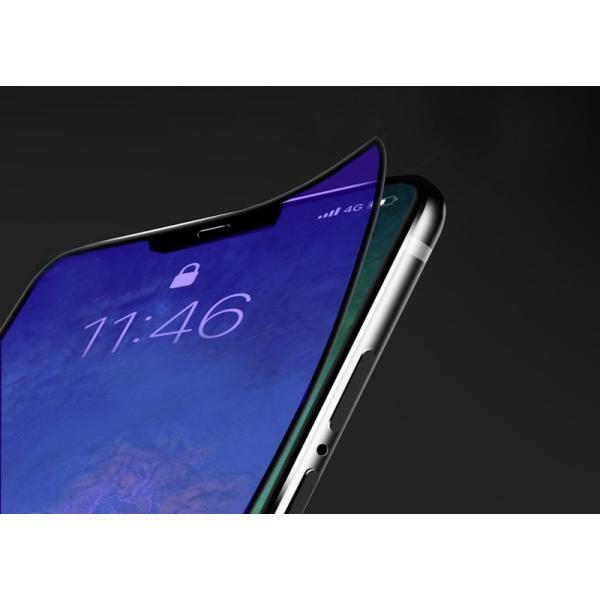 iPhone8 / 8 Plus 7 / 7 Plus / 6s Plus/6 Plus/6s/6/X 強化ガラスフィルム ブルーライトカット 9H硬度 日本旭硝子製素材 衝撃吸収 気泡レス 指紋防止 全面保護|k-seiwa-shop|07
