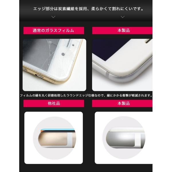iPhone6s Plus / iPhone6 Plus 強化ガラス iPhone6s / iPhone6 ガラスフィルム 日本旭硝子製素材 衝撃吸収 9H マットタイプ ブルーライトカット|k-seiwa-shop|06