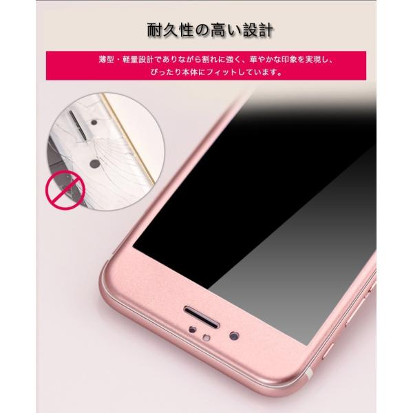 iPhone6s Plus / iPhone6 Plus 強化ガラス iPhone6s / iPhone6 ガラスフィルム 日本旭硝子製素材 衝撃吸収 9H マットタイプ ブルーライトカット|k-seiwa-shop|07