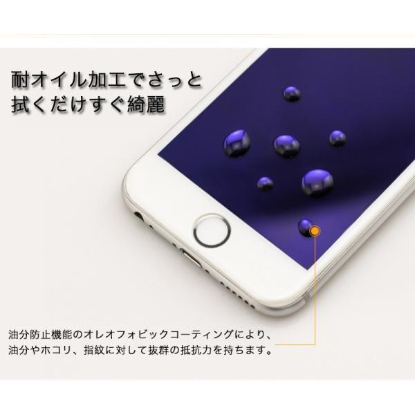 iPhone6s Plus / iPhone6 Plus 強化ガラス iPhone6s / iPhone6 ガラスフィルム 日本旭硝子製素材 衝撃吸収 9H マットタイプ ブルーライトカット|k-seiwa-shop|10
