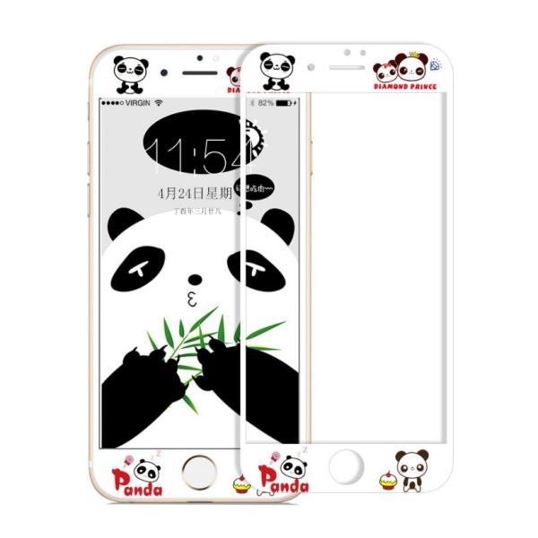 iPhone8 Plus ガラスフィルム 全面 iPhone7Plus 7 8 強化ガラスフィルム iPhone6s Plus 6 Plus 6s 6 ガラスフィルム 3D 耐衝撃 猫柄 9H かわいい 指紋防止|k-seiwa-shop|11