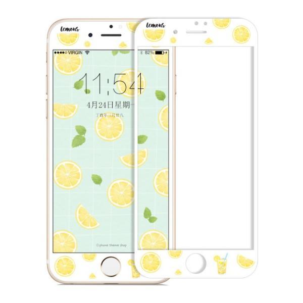 iPhone8 Plus ガラスフィルム 全面 iPhone7Plus 7 8 強化ガラスフィルム iPhone6s Plus 6 Plus 6s 6 ガラスフィルム 3D 耐衝撃 猫柄 9H かわいい 指紋防止|k-seiwa-shop|10