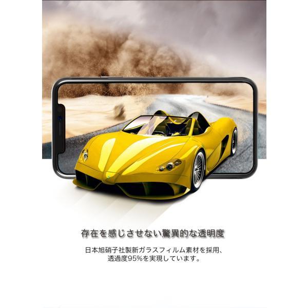 2枚セット iPhoneXSMax クリアケース同梱 iPhoneXS ガラスフィルム ブルーライトカット iPhoneXR 日本旭硝子製素材 9H硬度 耐衝撃 アイフォンX 液晶保護フィルム|k-seiwa-shop|08