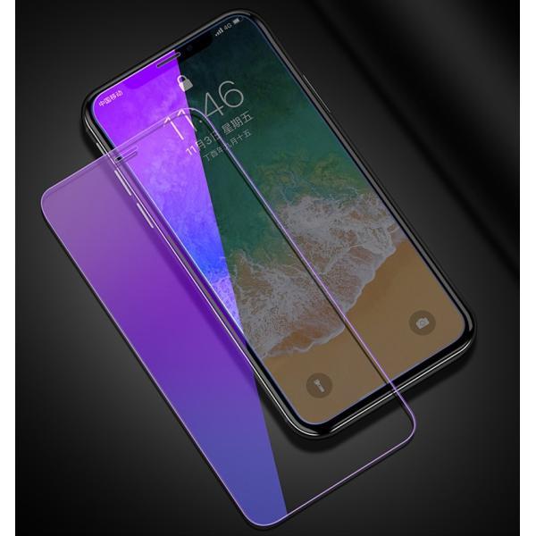 iPhone XR ガラスフィルム ブルーライトカット 3D iPhone XS Max X 6s 6 Plus iPhone8 Plus 7 Plus iPhoneSE 5s 5 フィルム 日本旭硝子素材 9H硬度|k-seiwa-shop|09