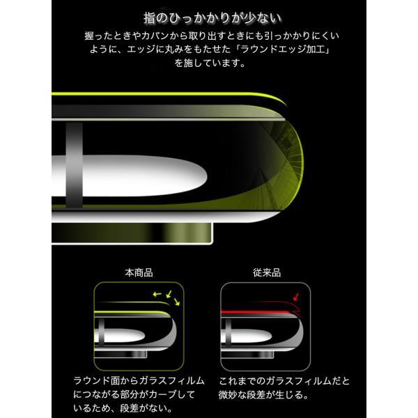 iPhoneXS Max iPhoneXS iPhoneX iPhoneXR ガラスフィルム 2枚セット iPhone8 Plus iPhone7 Plus iPhone6s 6 Plus 強化ガラス フィルム 3D 硬度9H 衝撃吸収|k-seiwa-shop|15