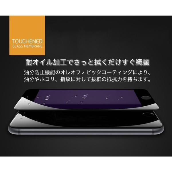 2枚/セット iPhone XR XS Max iPhone11 Pro Max iPhone8 iPhone6s 6 7 8 Plus X ガラスフィルム ブルーライトカット 日本旭硝子製素材 9H硬度 ラウンドエッジ|k-seiwa-shop|15