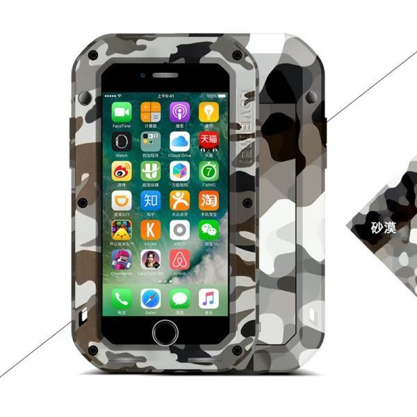 LOVE MEI iPhone8/7 ケース iPhone8 Plus/7 Plus ケース 耐衝撃 軍用 生活防水 防滴 防塵 スマホケース カバー アウトドア向け 迷彩タイプ ブランド|k-seiwa-shop|16