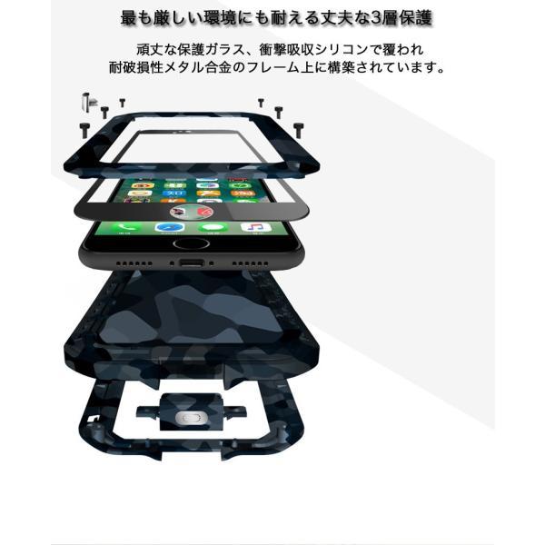 LOVE MEI iPhone8/7 ケース iPhone8 Plus/7 Plus ケース 耐衝撃 軍用 生活防水 防滴 防塵 スマホケース カバー アウトドア向け 迷彩タイプ ブランド|k-seiwa-shop|07