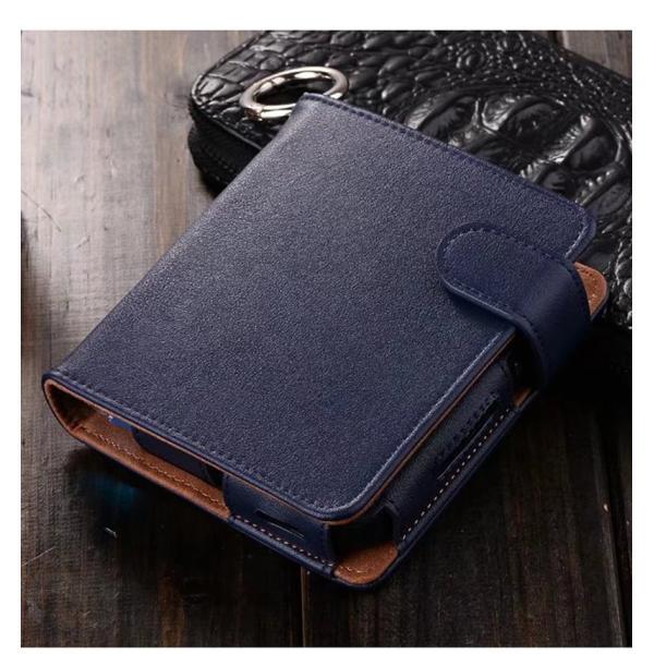 iQOS アイコス 専用 2.4 Plus 新型iQOS対応 iQOSケース 財布型 カード収納 カバー 電子たばこ バッグ レザー 革 ポーチ ホルダー カラビナ取付可|k-seiwa-shop|11