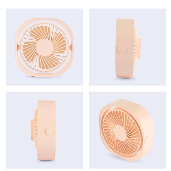 USBファン 卓上 USB扇風機 ミニ扇風機 静音 冷却扇風機 上下角度調節可能 安全性保証 クール おしゃれ ミニファン デスクファン 大風量 静音モデル|k-seiwa-shop|15