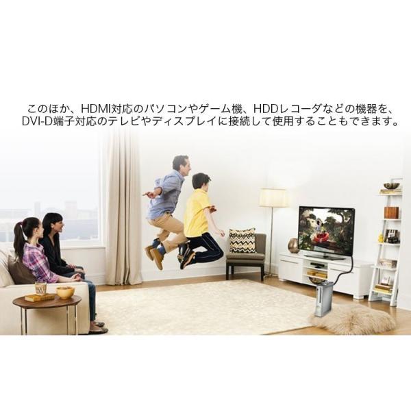 HDMI-DVI変換ケーブル 変換アダプタ HDMIケーブル 24金メッキ 金コネクタ FULL HD 1080p 3D映像 ハイビジョン イーサネット Ethernet オス-オス 1.5メートル|k-seiwa-shop|07