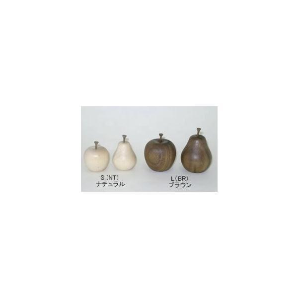 フルーツカードスタンド 洋なしL(NT)(木製カード立て)