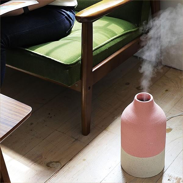 アロマ 超音波式 加湿器 北欧風 ノルディックスタイル 陶器カバー  ツートンカラー|k-style|06