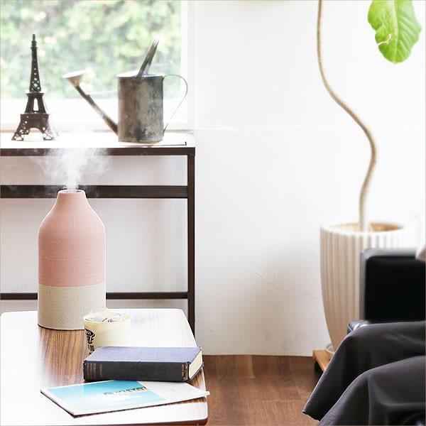 アロマ 超音波式 加湿器 北欧風 ノルディックスタイル 陶器カバー  ツートンカラー|k-style|08
