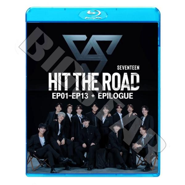 Blu-ray/ SEVENTEEN HIT THE ROAD (EP01-EP13) + EPILOGUE (日本語字幕あり)/ セブンティーン ウジ ミンギュ ホシ スングァン ディノ ジュン ドギョム..