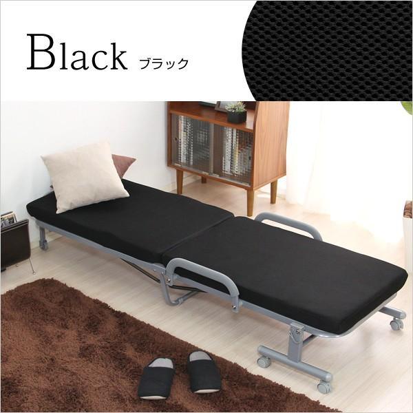 ベッド シングルベッド 折りたたみベッド リクライニングベッド