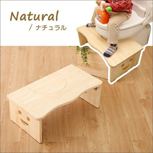 ナチュラルなトイレ子ども踏み台(29cm、木製)角を丸くしているのでお子様やキッズも安心して使えます|salita-サリタ- YOG|ka-grande|05