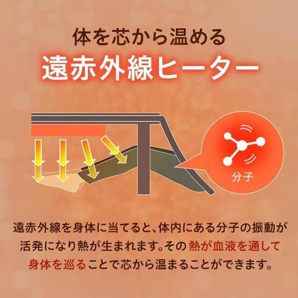 布団付きカジュアルこたつセット(68×68cm)日本メーカー製ヒーター、オールシーズン対応|COCOA-ココア- YOG|ka-grande|13