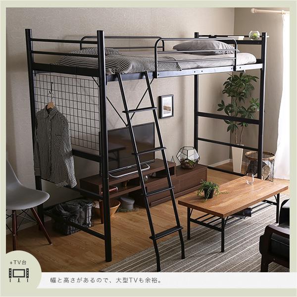 高さ調整可能 宮・コンセント付き ロフトベッド YOG ka-grande 12